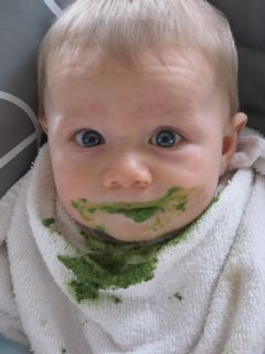 Zac loves his daily green smoothies!