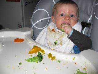 Who says you can't get kids to eat their vegies?